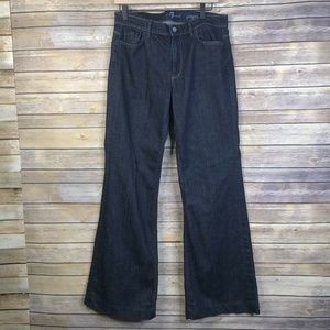 7 For All Mankind Ginger Flare High Rise Jeans